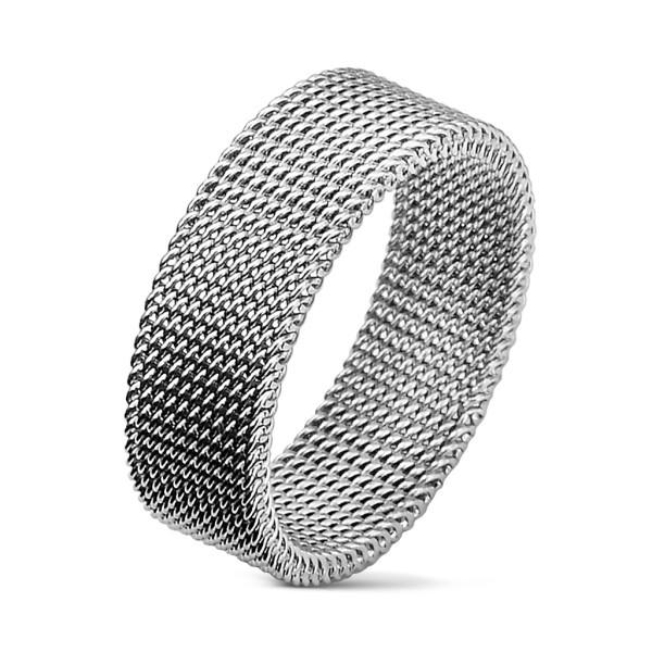 Ring Flexibel Edelstahl Gitterring