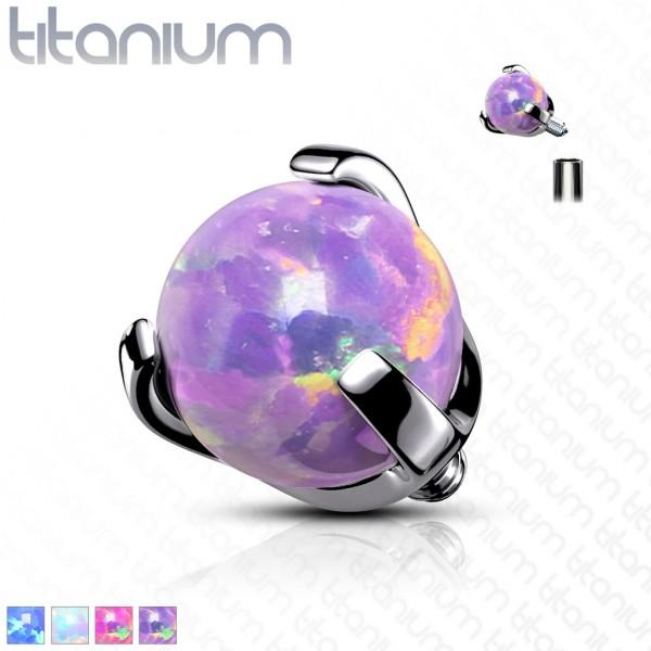 Opal Titan Kugel Innengewinde Ersatzkugel Gewinde