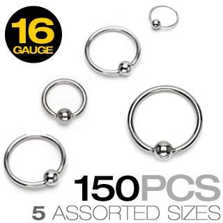 CBR Ringe 150 Stück