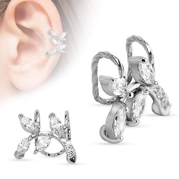 Helix Piercing Ear Cuff Ohrring Fake Piercing