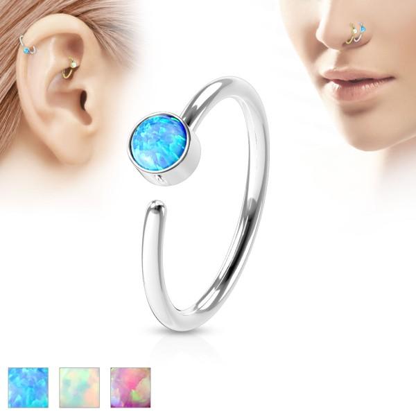 Opal Nasenring
