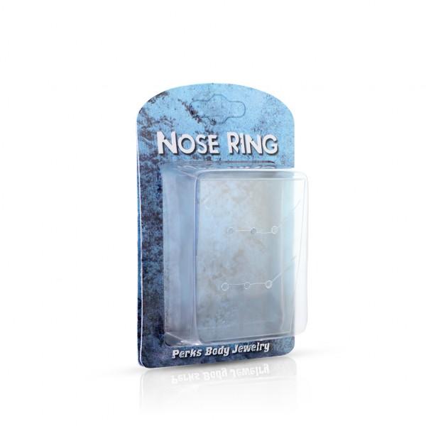 100 Stück Verpackungen für Nasenringe