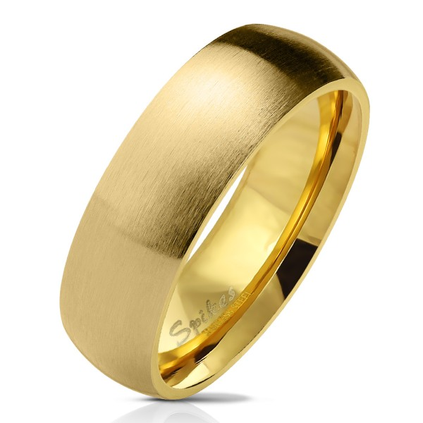 Ring Gold glitzernd