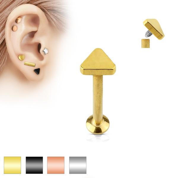 Dreieck Labret Monroe Piercing