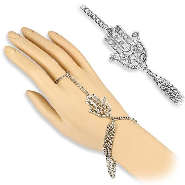 - Anhänger Sklave Kette Armband