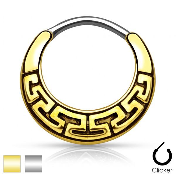 Gold Muster Septum Clicker