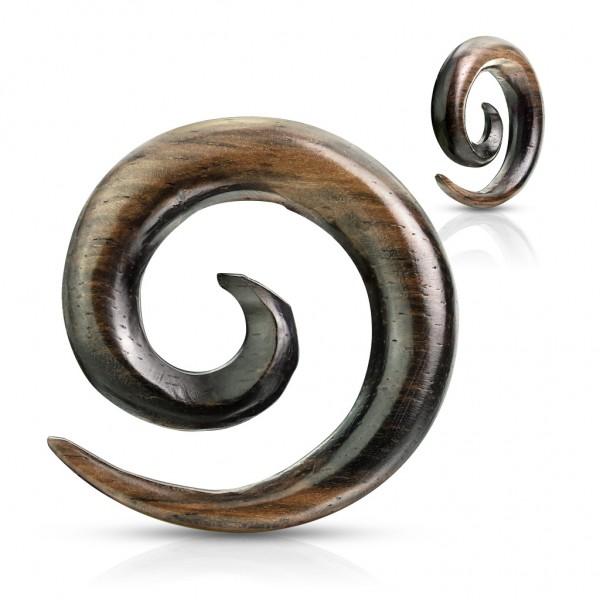 Ebenholz Natur Expander Spirale