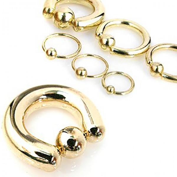 CBR Ring Gold plattiert