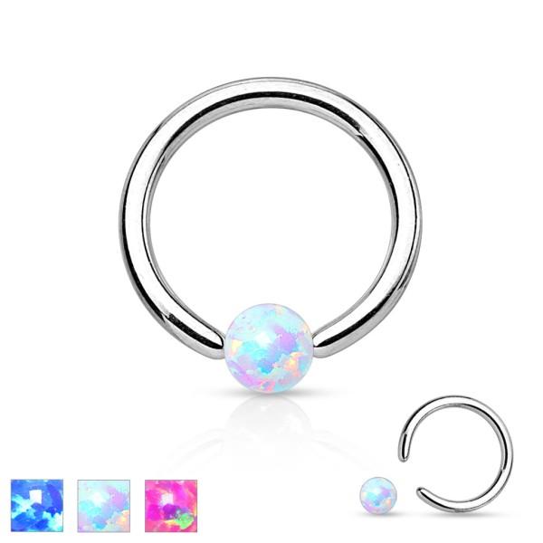 Opal synthetisch CBR Ring