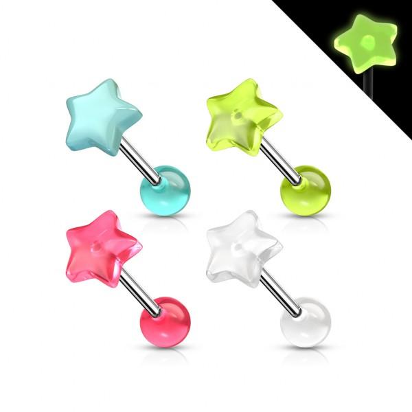 Stern leuchtend Hantelpiercings Bulk Pack