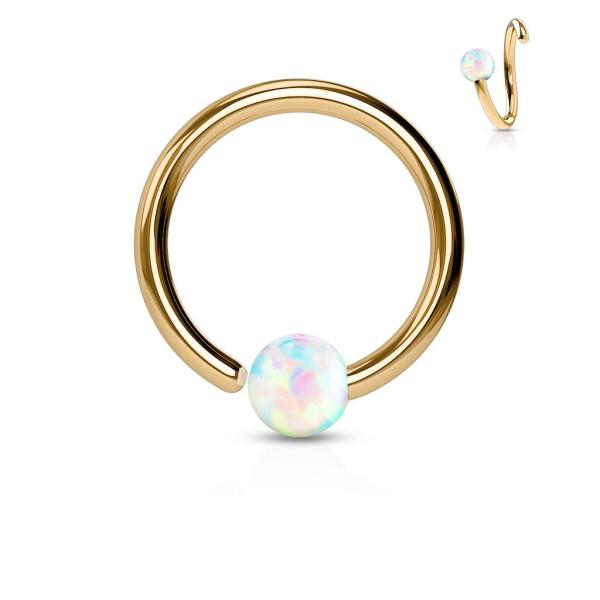 Opal Roségold CBR Ring
