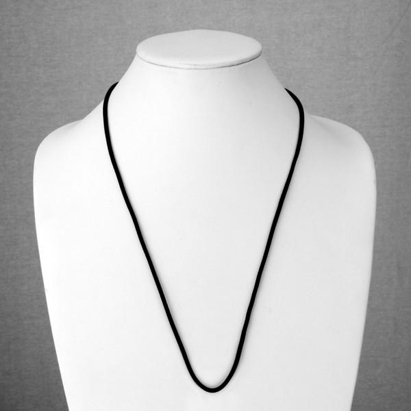 verstellbar Schwarz Samt Halskette