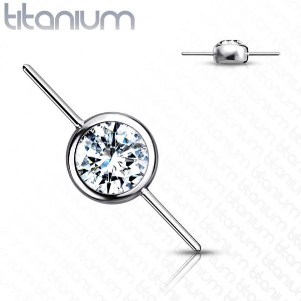 Implant Titan Threadless Push In Zirkonia Set Connector