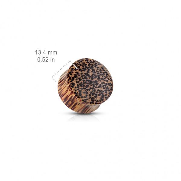 Kokosholz Sattel Plug Bio Fester Plug