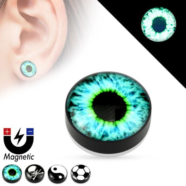 Auge Magnet Fake Plug