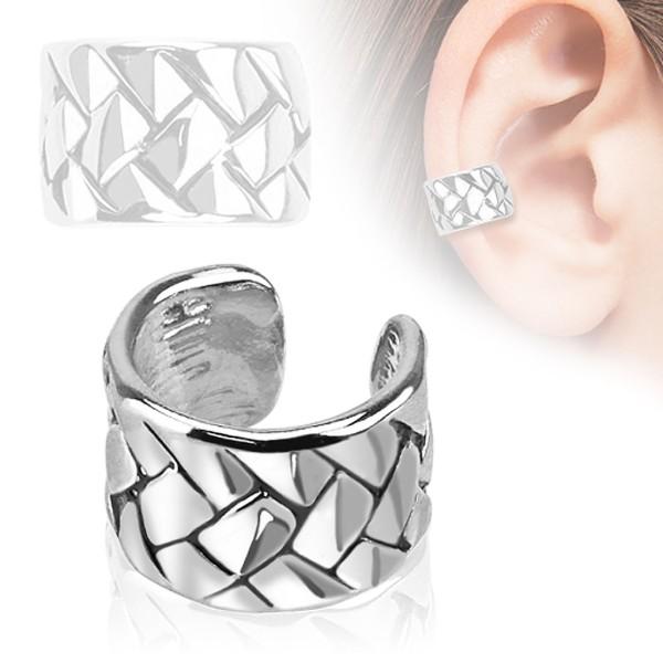 Gewobenes Muster Cartilage Tragus Piercing Fake Piercing