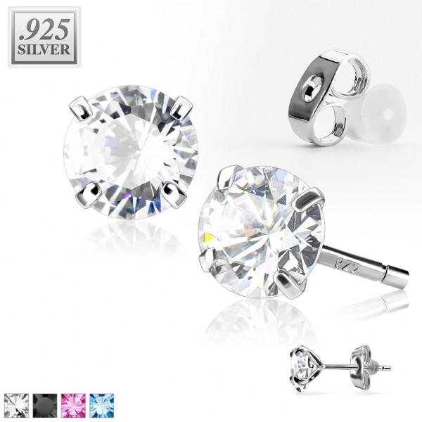 925 Silber Ohrring