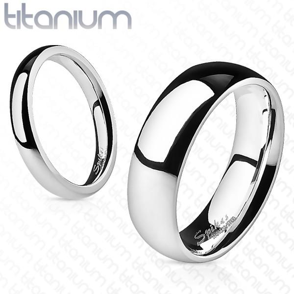 Ring Titan poliert Ehering
