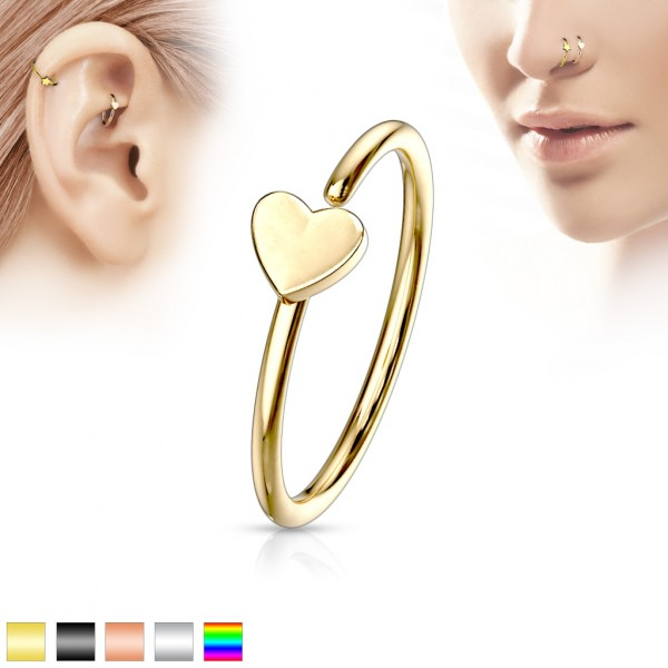 Blume Ohr Cartilage Hoop Ring