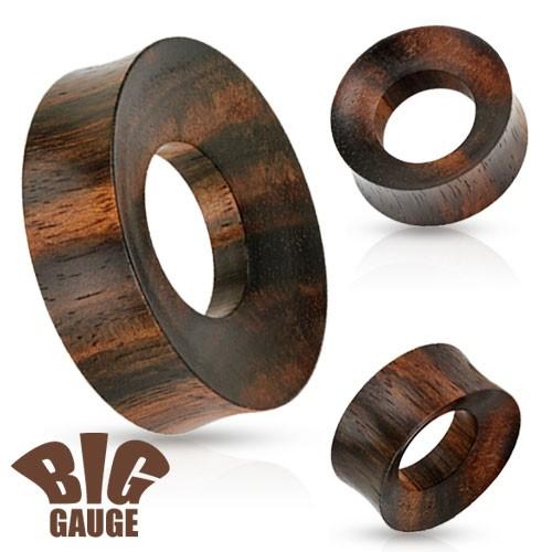 Organic Holz Flesh Tunnel Organic Holz
