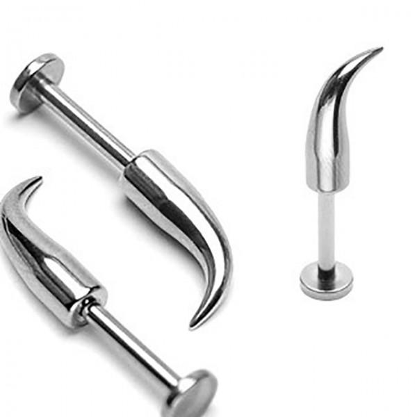 Stachel Labret Monroe Piercing