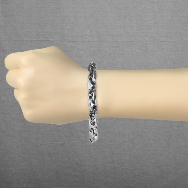 Anchor Kettenglied Wolfram Karbid Kette Armband