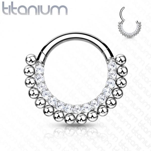 Titan Premium Segment Clicker mit Kristallen und Kugeln