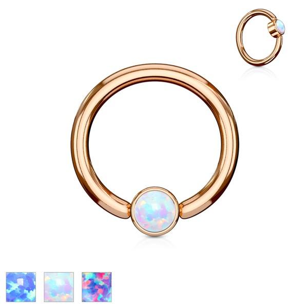 CBR Ring Roségold Opal