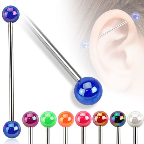 Metall Sytyle Industrial Surface Bar Piercing