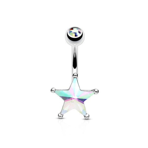 bauchnabelpiercings stern  piercing xxl online shop