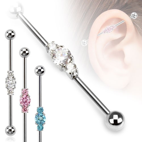 Kristall Industrial Surface Bar Piercing