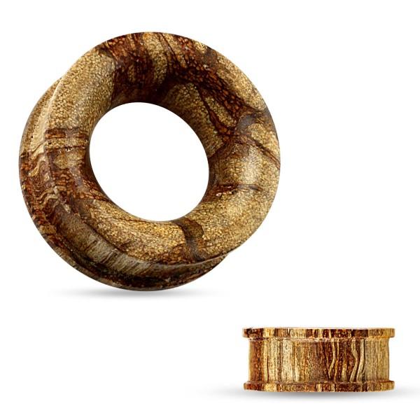 Flesh Tunnel Organic Holz