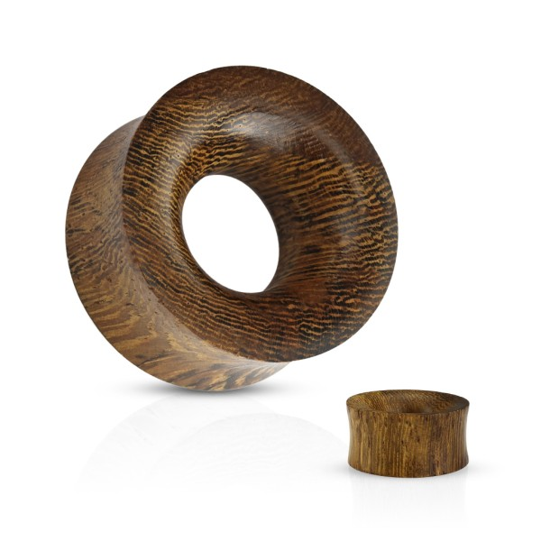 Flesh Tunnel Organic Holz