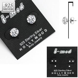 100 Stück 925 Sterling Silver Ohrring Karten
