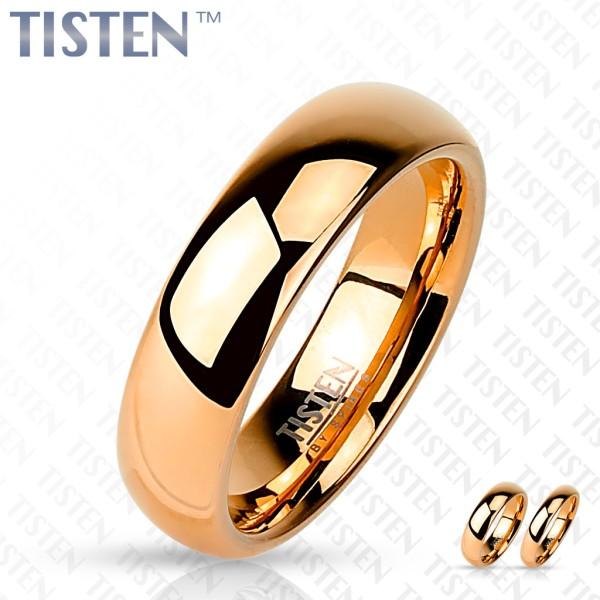 Ring Tisten poliert rosegold