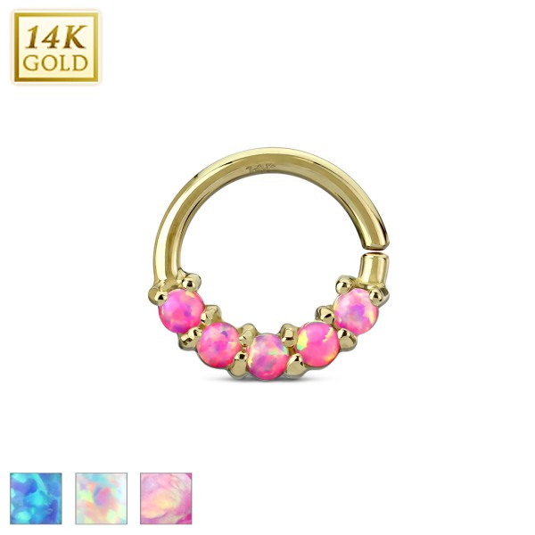 Septum Cartilage Ring 14 Karat Gelbgold