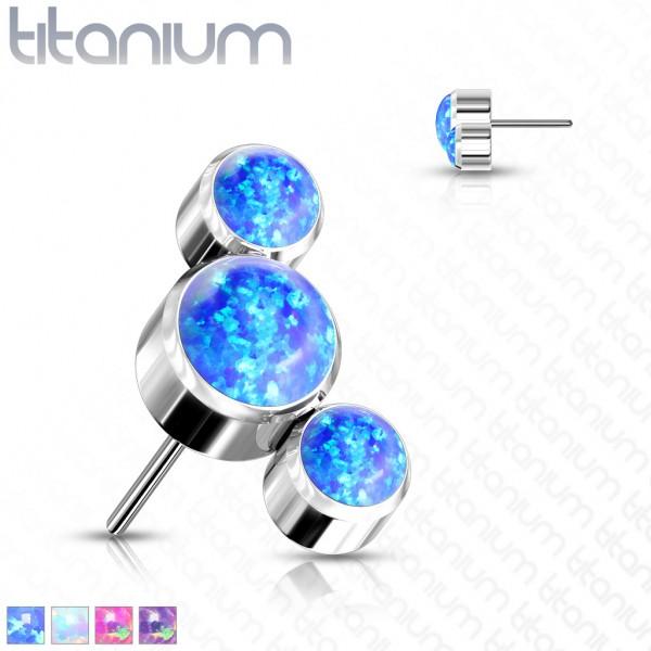 Titan Aufsatz drei Opale Push-In System
