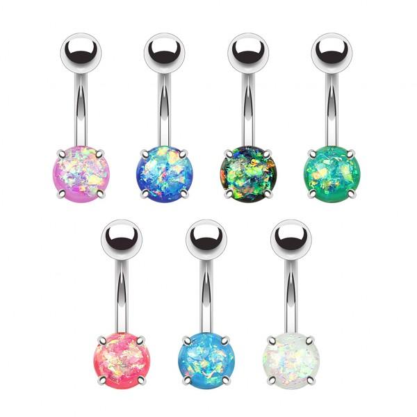 Bauchnabelpiercings Opal 70 Stück