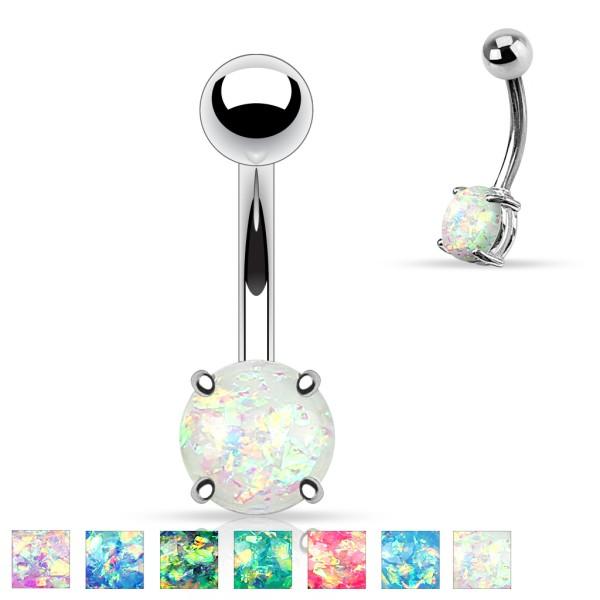 Opal Bauchnabelpiercing
